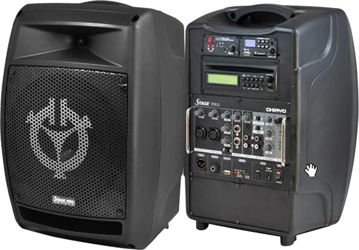 Stagepro Portable Sound Wireless Portable Mizer