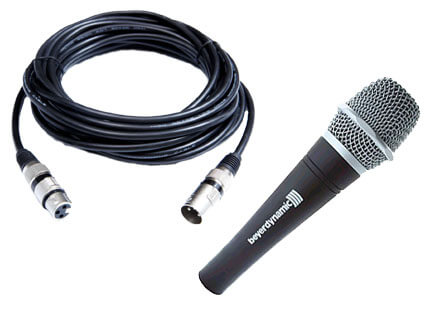 microphones and wiring material