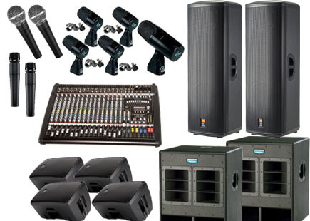 audio visual equipment for Perth events